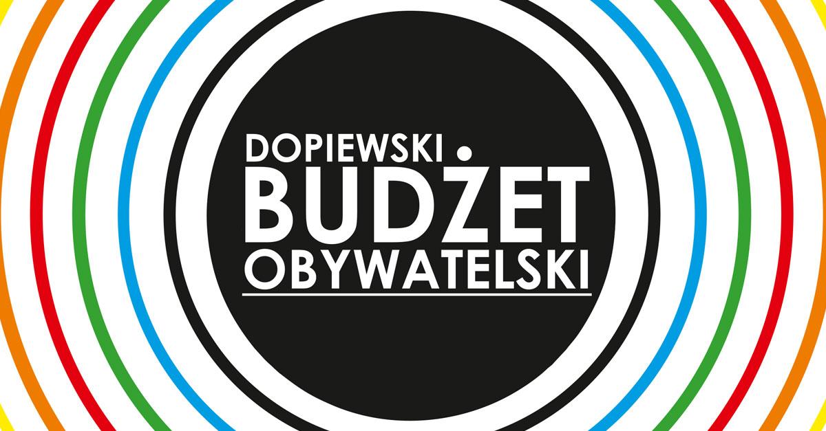 Logotyp Budżet Obywatelski Dopiewo