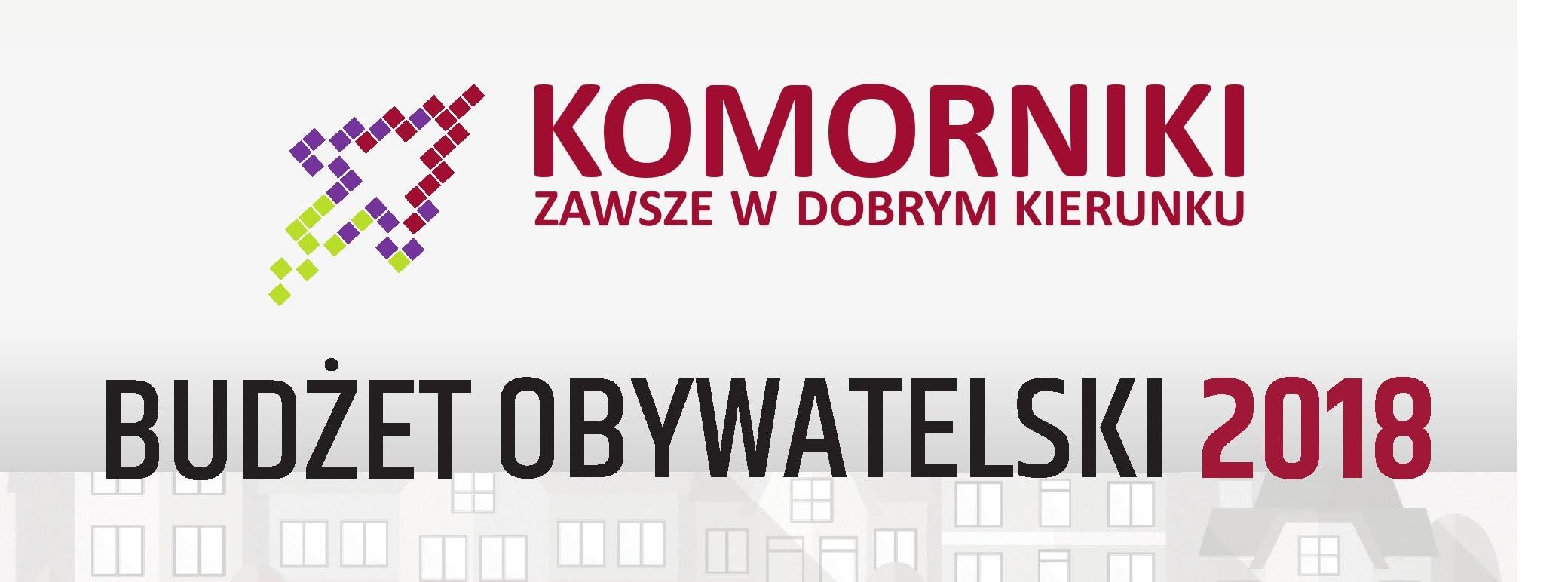 Logotyp Budżet Obywatelski Komorniki