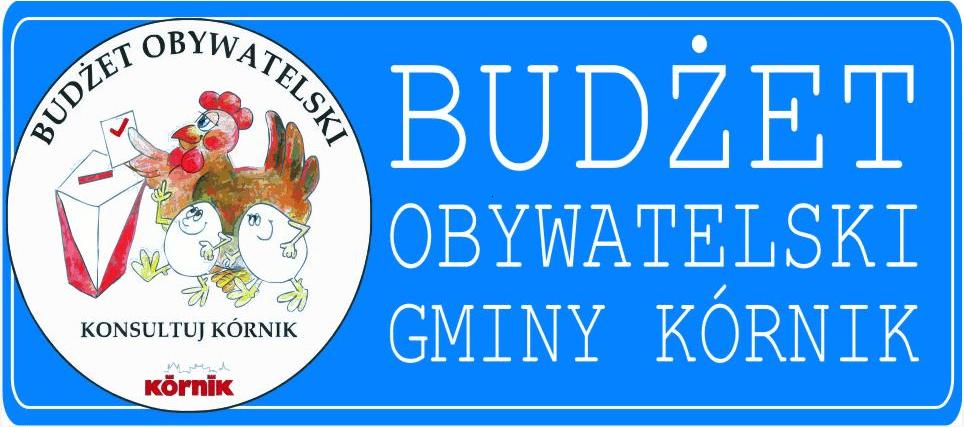 Logotyp Budżet Obywatelski Kórnik