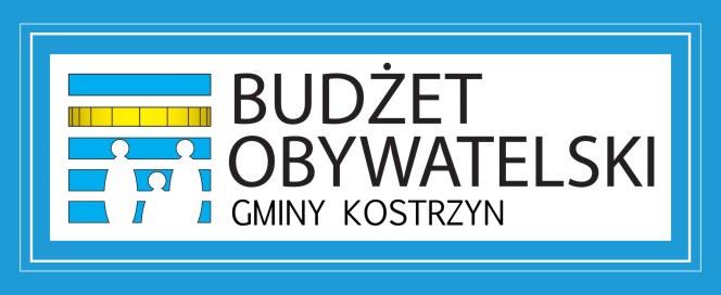 Logotyp Budżet Obywatelski Kostrzyn