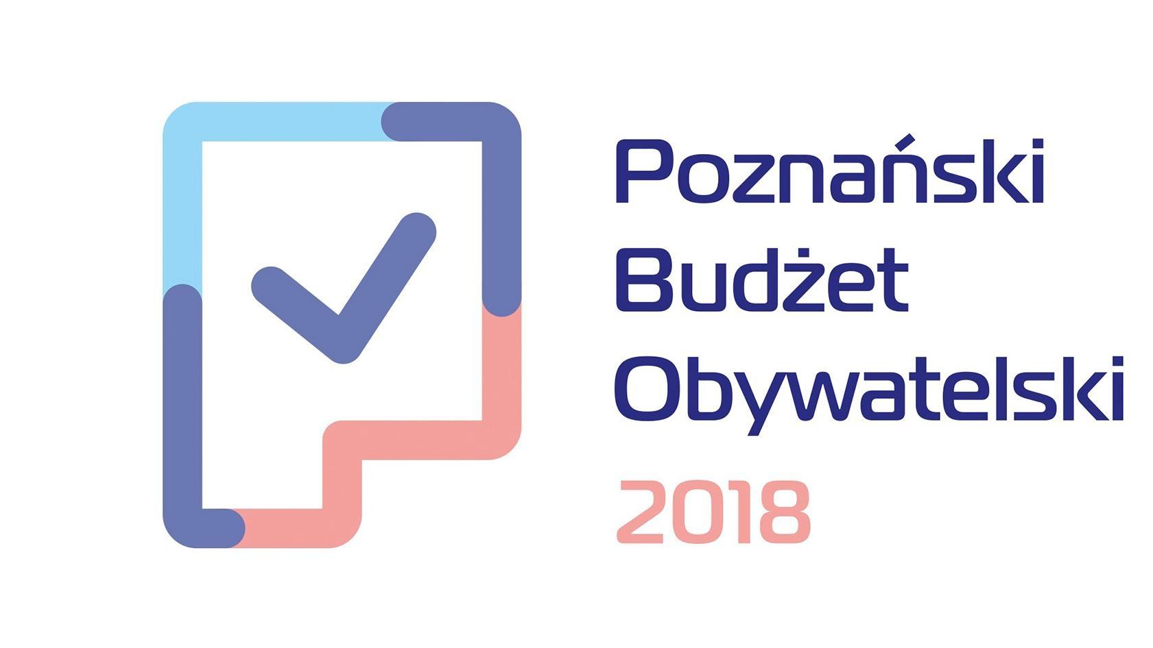 Logotyp Budżet Obywatelski Poznań