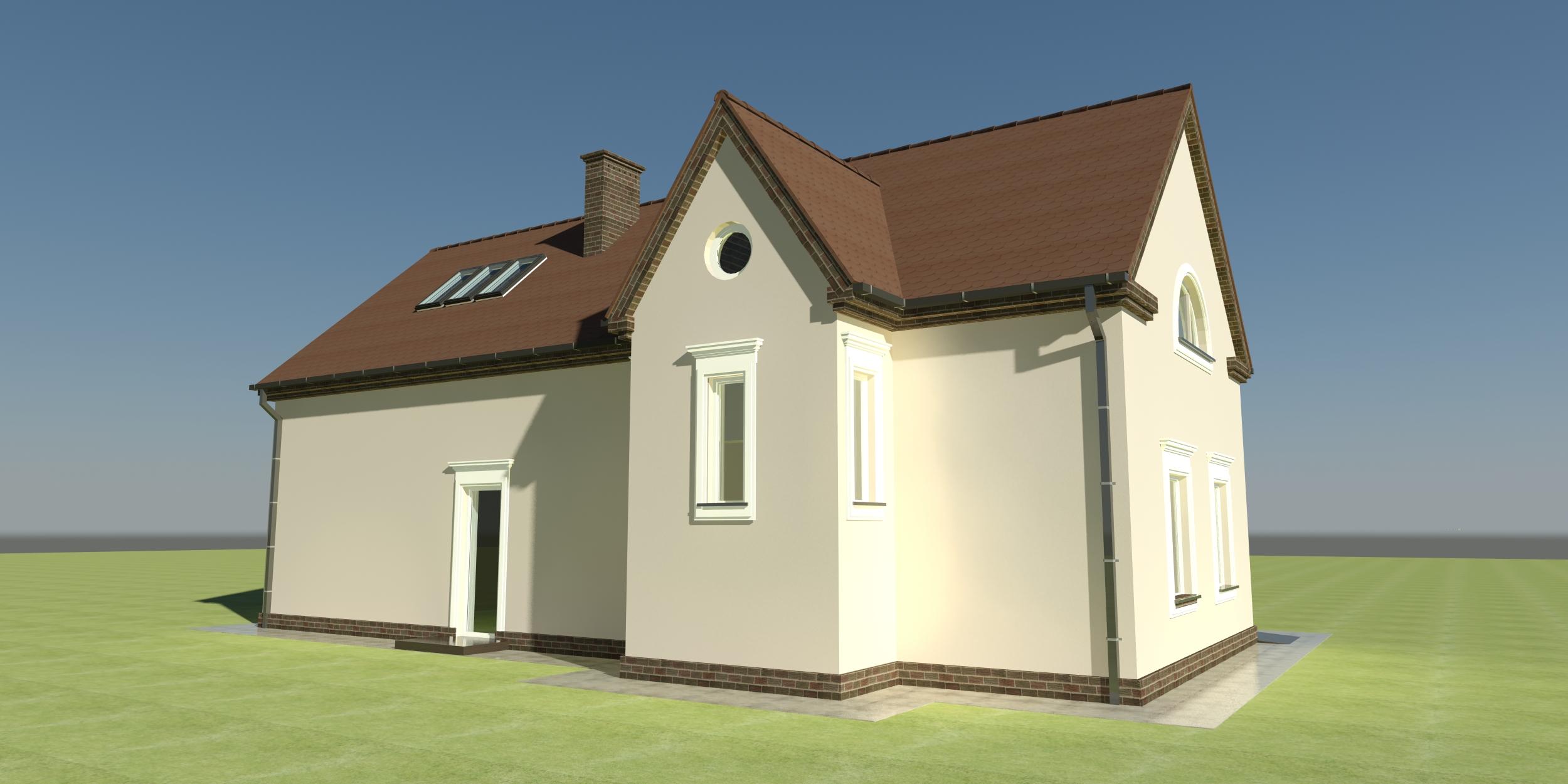 Wizualizacja Domu Włodarza